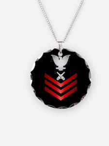 Navy Gunner's Mate First Class Necklace