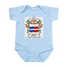 Elliott Coat of Arms Infant Creeper
