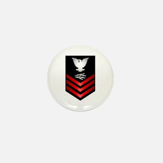 Navy Information Technician First Class Mini Butto