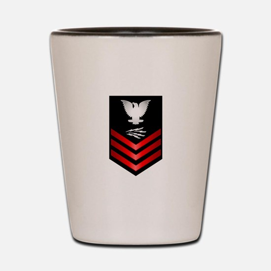 Navy Information Technician First Class Shot Glass