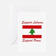 Support Lebanon Greeting Cards (Pk of 10)