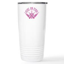 Girl on Fire (pink) WHT Travel Mug