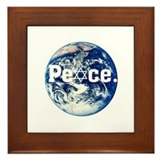 Support Israel Framed Tile