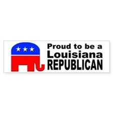 Louisiana Republican Pride Bumper Sticker