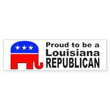 Louisiana Republican Pride Bumper Sticker