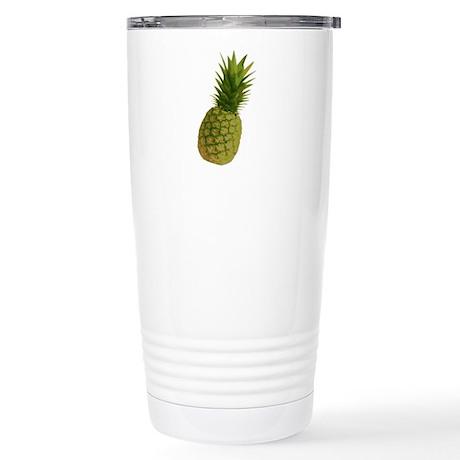 Pineapple Stainless Steel Travel Mug