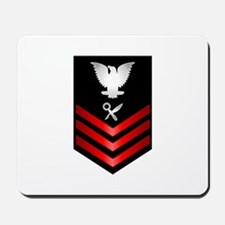 Navy Intelligence Specialist First Class Mousepad