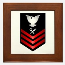 Navy Intelligence Specialist First Class Framed Ti