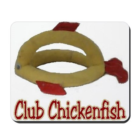 Club Chickenfish Logo Mousepad