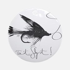 Tie It, Fly It! Ornament (Round)