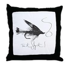 Tie It, Fly It! Throw Pillow