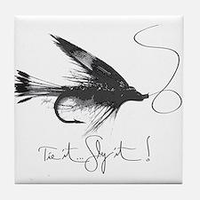 Tie It, Fly It! Tile Coaster