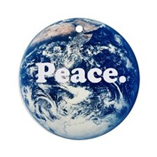 Support Peace Ornament (Round)