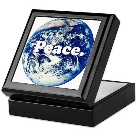 Support Peace Keepsake Box
