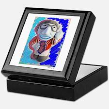 Pop Kreskin (blue) Keepsake Box