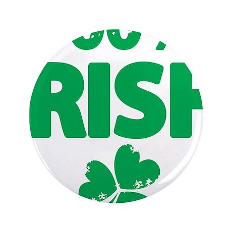 "100% Irish 3.5"" Button (100 pack)"