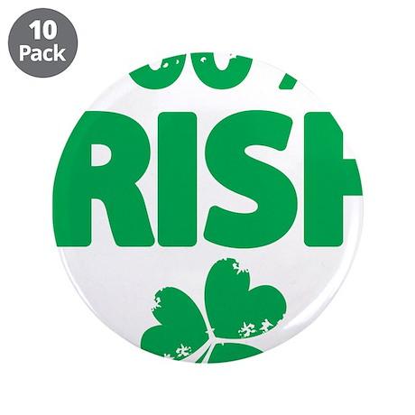 "100% Irish 3.5"" Button (10 pack)"