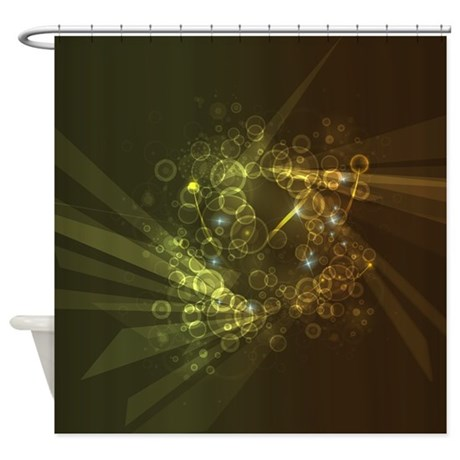 Abstract Artwork Shower Curtain