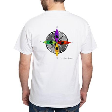 Kayakgirlz White T-Shirt