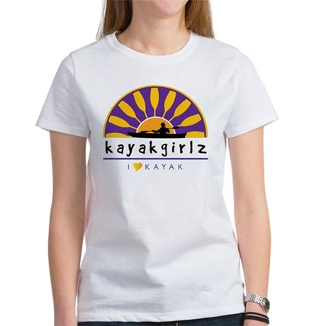 Kayakgirlz Women's T-Shirt