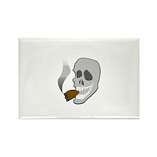 Smoking Rectangle Magnet (10 pack)