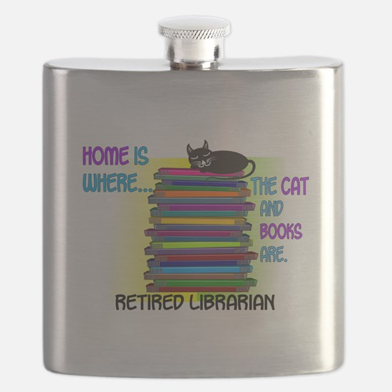 Retired Librarian Home is where Cat books.PNG Flas