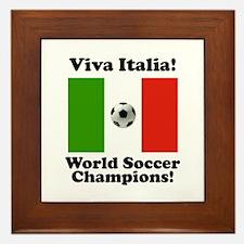 Viva Italia Framed Tile