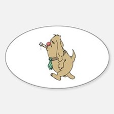 Smoking Sticker (Oval)
