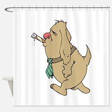 Smoking Shower Curtain