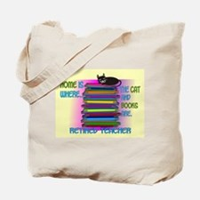 Retired teacher blanket size.PNG Tote Bag