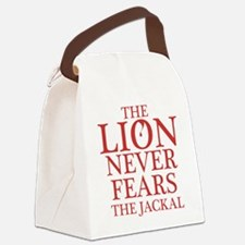 Dexter: Lion vs. Jackal Canvas Lunch Bag