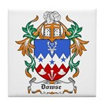 Dowse Coat of Arms Tile Coaster