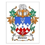 Dowse Coat of Arms Small Poster