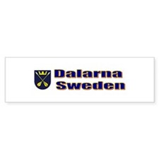 Dalarna Shield Bumper Bumper Sticker