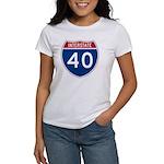 I-40 Highway Women's T-Shirt