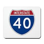 I-40 Highway Mousepad