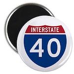 I-40 Highway Magnet