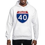 I-40 Highway Hooded Sweatshirt