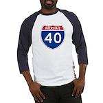 I-40 Highway Baseball Jersey