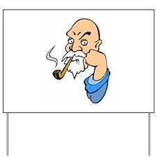 Smoking Yard Sign