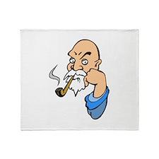 Smoking Throw Blanket