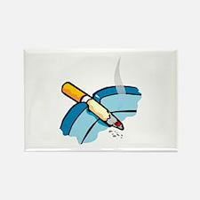 Smoking Rectangle Magnet