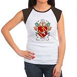Dooley Coat of Arms Women's Cap Sleeve T-Shirt