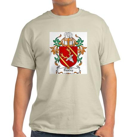 Dooley Coat of Arms Ash Grey T-Shirt