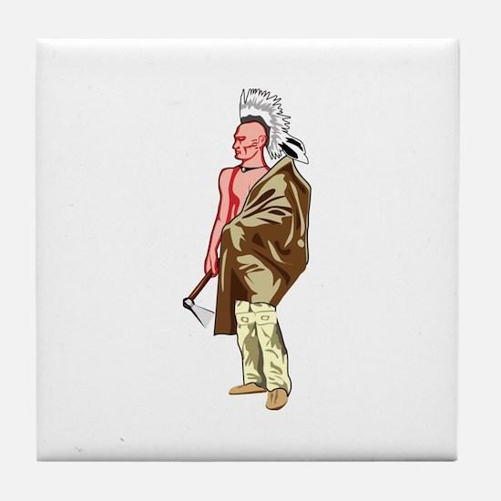 Native American Culture Tile Coaster