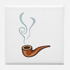 Smoking Tile Coaster