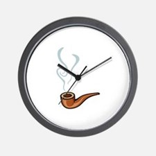 Smoking Wall Clock