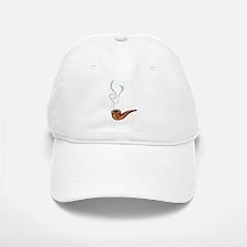 Smoking Baseball Baseball Cap