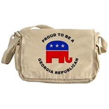 Georgia Republican Pride Messenger Bag
