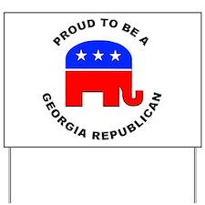 Georgia Republican Pride Yard Sign